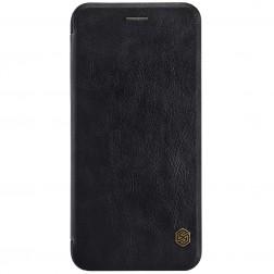 """""""Nillkin"""" Qin atverčiamas dėklas - juodas (iPhone 7 plus)"""