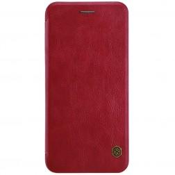 """""""Nillkin"""" Qin atverčiamas dėklas - raudonas (iPhone 7 Plus / 8 Plus)"""