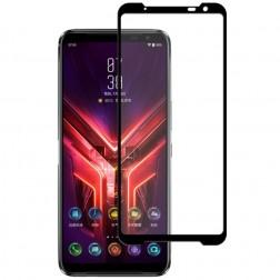 """""""Mocolo"""" Tempered Glass pilnai dengiantis apsauginis ekrano stiklas 0.2 mm - juodas (Rog Phone 3)"""