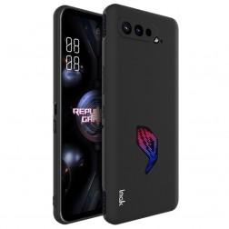 """""""Imak"""" kieto silikono (TPU) dėklas - juodas (Rog Phone 5)"""