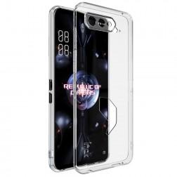 """""""Imak"""" kieto silikono (TPU) dėklas - skaidrus (Rog Phone 5)"""