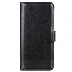 Atverčiamas dėklas, knygutė - juodas (Rog Phone 5)