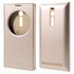"""""""Smart Window"""" atverčiamas dėklas - auksinis (Zenfone 2 5.5)"""