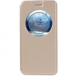 """""""Smart Window"""" atverčiamas dėklas - auksinis (Zenfone 3 5.2)"""