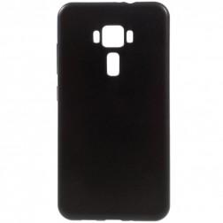 Kieto silikono (TPU) dėklas - juodas (Zenfone 3 5.5)