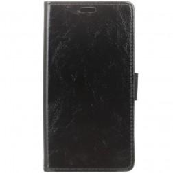 Atverčiamas dėklas - juodas (Zenfone 3 Max)