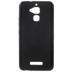 Kieto silikono (TPU) dėklas - juodas (Zenfone 3 Max)