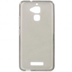 Kieto silikono (TPU) dėklas - pilkas (Zenfone 3 Max)