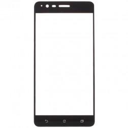 """""""Calans"""" Tempered Glass pilnai dengiantis apsauginis ekrano stiklas 0.2 mm - juodas (Zenfone 3 Zoom)"""