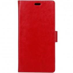 Atverčiamas dėklas - raudonas (Zenfone 4 Max)