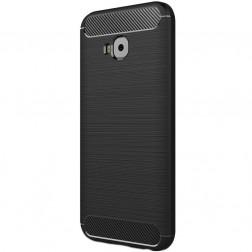 """Carbon"" kieto silikono (TPU) dėklas - juodas (Zenfone 4 Selfie Pro)"