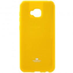 """Mercury"" dėklas - geltonas (Zenfone 4 Selfie Pro)"