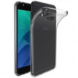 Ploniausias TPU dėklas - skaidrus (Zenfone 4 Selfie Pro)