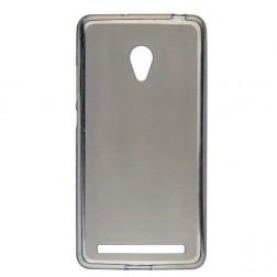 Kieto silikono matinis dėklas - pilkas (Zenfone 6)