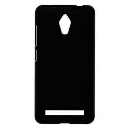 Matinis plastikinis dėklas - juodas (Zenfone C 4.5)