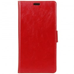 Atverčiamas dėklas, knygutė - raudonas (Zenfone Go)