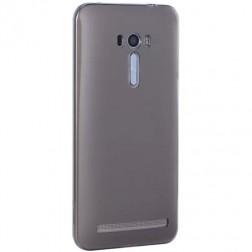 Ploniausias TPU skaidrus dėklas - pilkas (Zenfone Selfie)