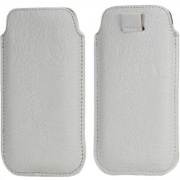 Telefono įmautė - balta (iPhone 5 / 5S / SE)