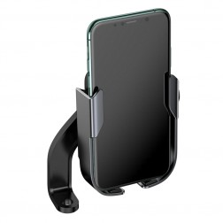 """""""Baseus"""" Motorcycle universalus telefono laikiklis prie dviračio / paspirtuko / motociklo"""