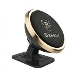 """""""Baseus"""" Magnet Mount automobilinis telefono laikiklis - auksinis"""