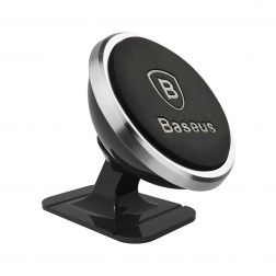 """Baseus"" Magnet Mount automobilinis telefono laikiklis - sidabrinis"