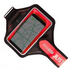 """""""Baseus"""" dėklas sportui (raištis ant rankos) - raudonas (L+ dydis)"""