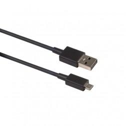 """""""BlackBerry"""" micro USB laidas - juodas (1,2 m.)"""