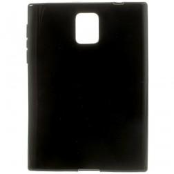 Kieto silikono (TPU) dėklas - juodas (Passport)