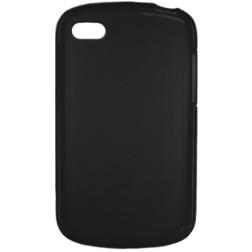 Kieto silikono dėklas - juodas (Q10)