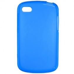 Kieto silikono dėklas - mėlynas (Q10)