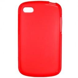 Kieto silikono dėklas - raudonas (Q10)