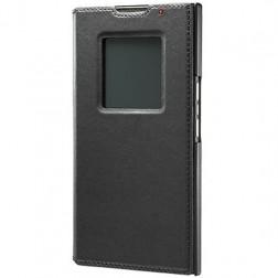 """""""BlackBerry"""" Smart Flip atverčiamas dėklas - juodas (Priv)"""