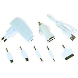 """Bottari"" įkroviklių komplektas su USB laidu (1 A)"