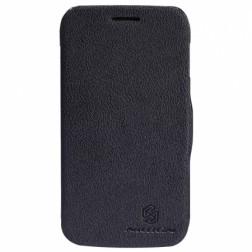 """""""Nillkin"""" Fresh atverčiamas dėklas - juodas (Galaxy Core)"""