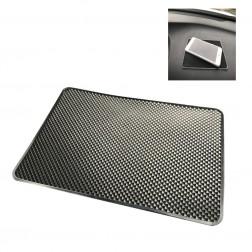 """Dashboard"" silikoninis lipnus kilimėlis - juodas (XL dydis)"