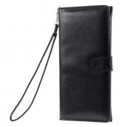Universali atverčiama įmautė - piniginė, juoda (XL+ dydis)