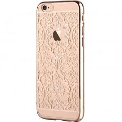 """""""Devia"""" Baroque Swarovski dėklas - auksinis (iPhone 6 / 6S)"""