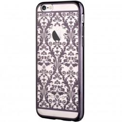 """""""Devia"""" Baroque Swarovski dėklas - juodas (iPhone 6 / 6S)"""