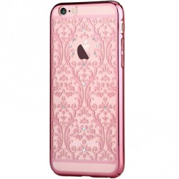 """""""Devia"""" Baroque Swarovski dėklas - rožinis (iPhone 6 / 6S)"""
