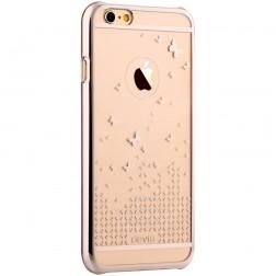 """""""Devia"""" Butterfly dėklas - auksinis (iPhone 6 / 6S)"""