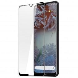 """""""Dux Ducis"""" Tempered Glass pilnai dengiantis apsauginis ekrano stiklas 2.5D - juodas (Nokia 6.3 / G10 / G20)"""