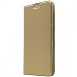 """""""Dux Ducis"""" Skin atverčiamas dėklas - auksinis (Galaxy A50)"""