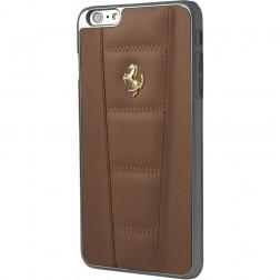 """Ferrari"" 458 dėklas - rudas (iPhone 6 / 6s)"