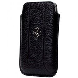"""Ferrari"" odinė įmautė telefonui - juoda (L dydis)"