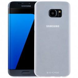 """""""G-Case"""" ploniausias plastikinis dėklas - baltas (Galaxy S7 Edge)"""