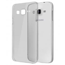 Ploniausias TPU skaidrus dėklas - pilkas (Galaxy E7)