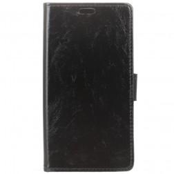 Atverčiamas dėklas - juodas (Galaxy J4+)