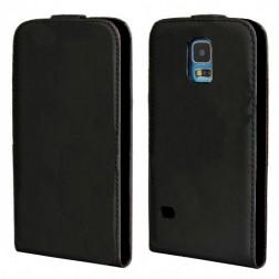 Vertikaliai atverčiamas dėklas - juodas (Galaxy S5 / S5 Neo)
