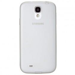 """""""GGMM"""" kieto silikono (TPU) skaidrus dėklas - baltas (Galaxy S4)"""