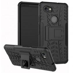 """""""Kickstand"""" sustiprintos apsaugos dėklas - juodas (Pixel 2 XL)"""